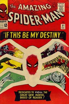 SPIDER-MAN 31... Cover by STEVE DITKO