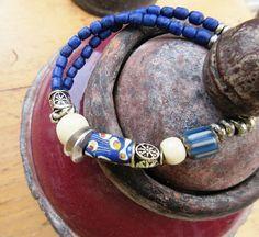 Bracelet tribal : 2 rangs tribal pour  Arômes par annemarietollet