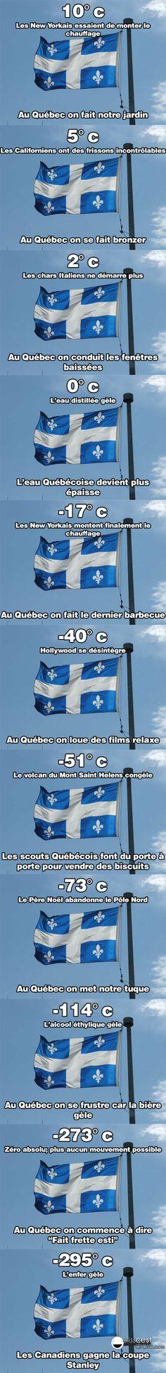 Vive le Québec hahah esti qui faiit frette