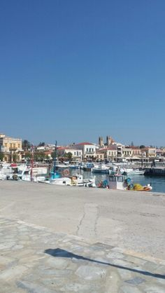 Port of #Aegina, #Greece