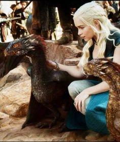 Daenerys Targaryen and Dragons ~ Game of Thrones