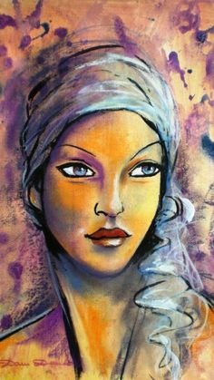 peintures de visages