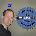Shane Barker: Ranked #2 Social Media Consultant in the Nation by PROskore