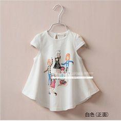 Seashells Kids Kids Girl Print Short-Sleeve Dress | YESSTYLE