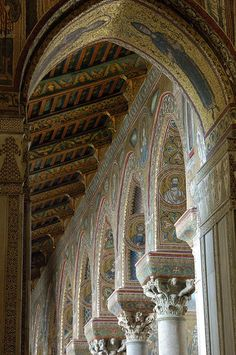 The famous Duomo (Cathedral) di Monreale, Sicily