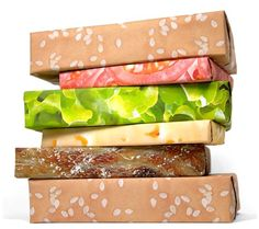 Wrapping Paper Burge
