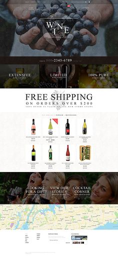 Quality Wines Online Store #WooCommerce #template. #themes #business #responsive #WooCommercethemes