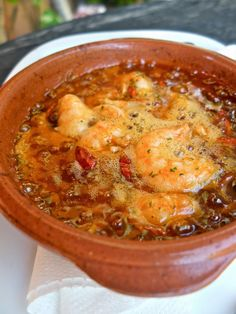 Homemade Gambas Pil Pil - The Blonde B