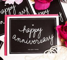 Anniversary Card by Paintingsbyjeanie on Etsy