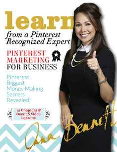 Pinterest marketing expert Anna Bennett reveals  tips for businesses: Learn the secrets to optimizing your Pinterest profile to rank high on search engines. CLICK here to receive Chapter 1 for free. http://www.whiteglovesocialmedia.com/pinterest-marketing-for-business/
