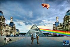 Pink Floyd Pyramid at Louvre Museum Paris France | Pink Floy… | Flickr
