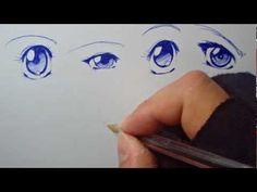 Dibujando Manga con Shukei #1: Ojos - YouTube