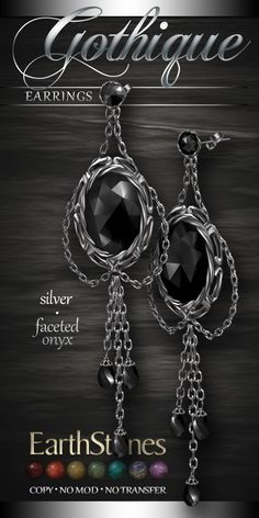 gothique-earrings-silver-onyx.png (512×1024)