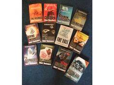The whole of the CHERUB series. Written by Robert Muchamore