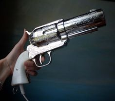 I saw these pistol hairdryers a few years ago but never picked one up. I wonder...