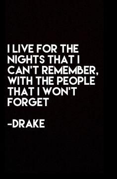 #Quotes #Relationship #Nights #Memories #Drake