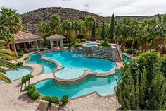 1187 Macdonald Ranch Dr, Henderson, NV 89012 is For Sale Luxury Swimming Pools, Luxury Pools, My Pool, Swimming Pools Backyard, Dream Pools, Swimming Pool Designs, Pool Landscaping, Pool Spa, Insane Pools