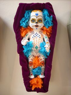 Day of the Dead doll baby