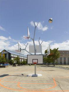 Basketball tree by A/LTA architects. Photo by s.chalmeau + a/LTA architects