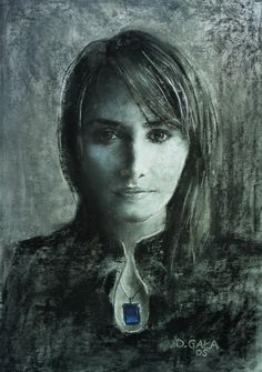 portret kobiety - Creative Art in Painting by Gala Artis in Portfolio Portret at Touchtalent