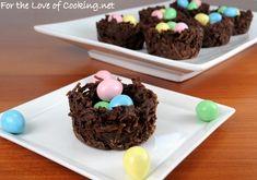 coconut chocolate nests
