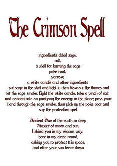 The Crimson Spell…