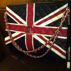 Chanel Handbags | Chanel Union Jack tote | God Save The Queen