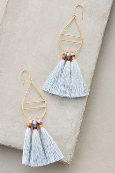 Slide View: 1: Kai Tassel Earrings from Bluma Project