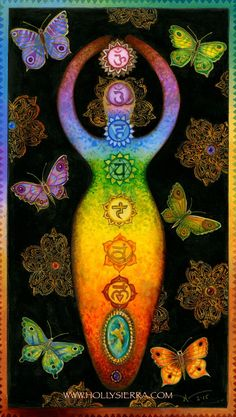 CHAKRA KANTI - Rainbow Goddess of Healing Chakras are the seven wheels of ENERGY in your body. Understanding the chakras allows you to understand the relationship between your consciousness and your body, and to thus see your body as a map of your consciousness. It gives you a better understanding of yourself and those around you.