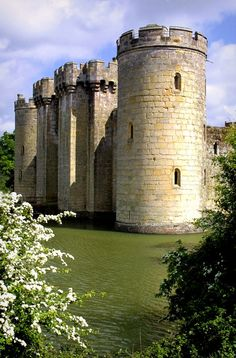 Bodiam Castle - North Side - Bodiam, East Sussex