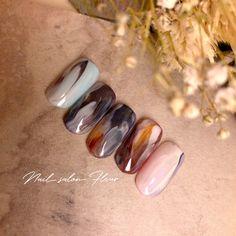 Gelish Nails, Nail Manicure, Nail Polish, How To Do Nails, Fun Nails, Japanese Nail Art, Nail Ring, Minimalist Nails, Nail Games