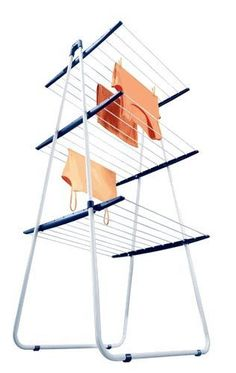 drying rack space saving- great idea to have a few on top of each other
