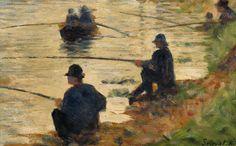 georges-seurat-les-pecheurs-a-la-ligne 1883