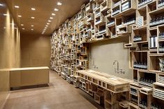 The new Aesop shop in San Francisco. Read more: http://www.dwell.com/post/article/san-franciscos-new-aesop-shop