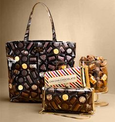 Purses for chocolate lovers from Kate Spade