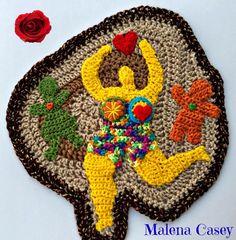 "Dada Neon Crochet: YOUR Personal Freeform CAL! - ""Week"" 23"