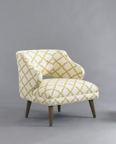 DwellStudio Mallory Chair, MADE IN USA and available at Port!