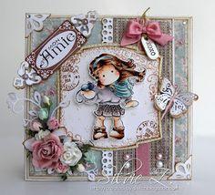 Carte Magnolia di Silvie Z: Tilda con arachidi!