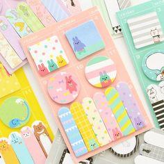 Animal Party Sticky Memo Set