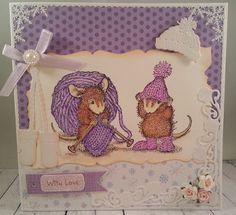 A Papercrafting Blog with fabulous Designers creating cards and fun crafty projects featuring stamps by House-Mouse Designs.  Come and join-in on the FUN!