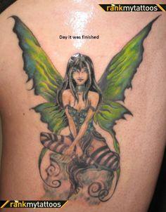 fairie tattoos   Fairy Fairy Tattoo