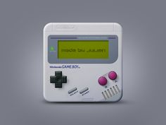 Gameboy by Julien_z