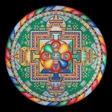 Resultado de imagem para sand mandala house of cards