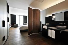 Iluminación de hoteles. Iluminación de baños. Hotel Alma: un espacio que aúna el clasicismo del Eixample y la modernidad de Barcelona. | diariodesign.com