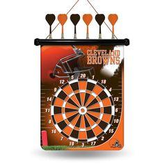 Cleveland Browns NFL Magnetic Dart Board