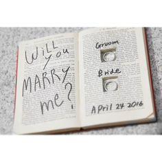 ⚘⚘ 神保町に古本を買いに行ったのが懐かしいです 赤い洋書をリメイクして、 リングピローにしました(^^)✾ * * wedding bookを参考に作りました * * #weddingtbt 2016. 04. 24✎✽*.......... レポ ⚘ #KY424#プレ花嫁卒業#wedding#ウェディング#ブライダル#ガーデンウェディング#2016swd#春挙式#結婚式#結婚式準備#結婚式diy
