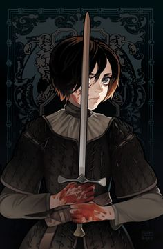 Arya Stark by Bloody★Pepper