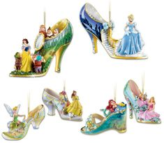bradford exchange Disney once upon a slipper - Google Search