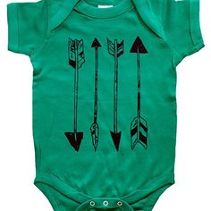 "Arrows - Color One Piece Bodysuit / Baby Shirt by Vicarious Clothing   Please us the drop down box to let us know what size and color you would like.   ..\ THESE BODYSUITS RUN A LITTLE BIG. Please see measurement chart for sizing //..    \ \ AVAILABLE BODYSUIT SIZES / /  NEWBORN // 7.25"" width / 11.5"" height 6 MONTHS // 8.75"" width / 12.5"" height 12 MONTHS // 9.75"" width / 13.5"" height 18 MONTHS // 10.75"" width / 14.5"" height   \ \ AVAILABLE BODYSUIT COLORS / /  YELLOW PINK RED HEATHER ..."