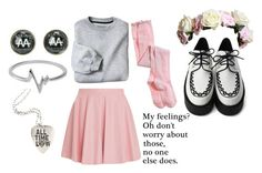 """""""..."""" by girl-in-love-m ❤ liked on Polyvore featuring Drome, Aerie and Jewel Exclusive"""